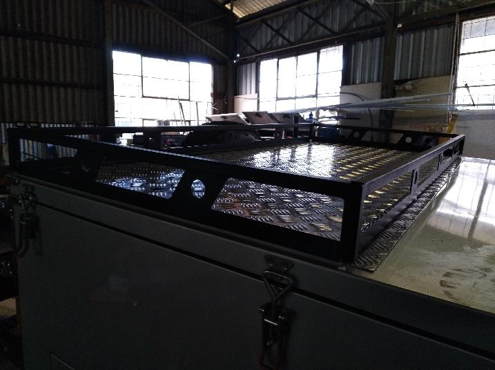 Custom made roof rack
