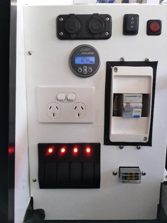 Modern 12V-240V installation