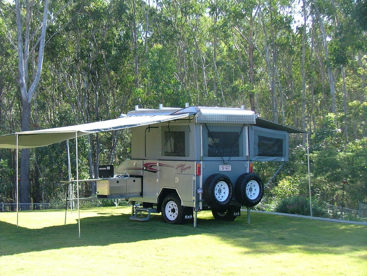 Custom made camper trailer from $45,000