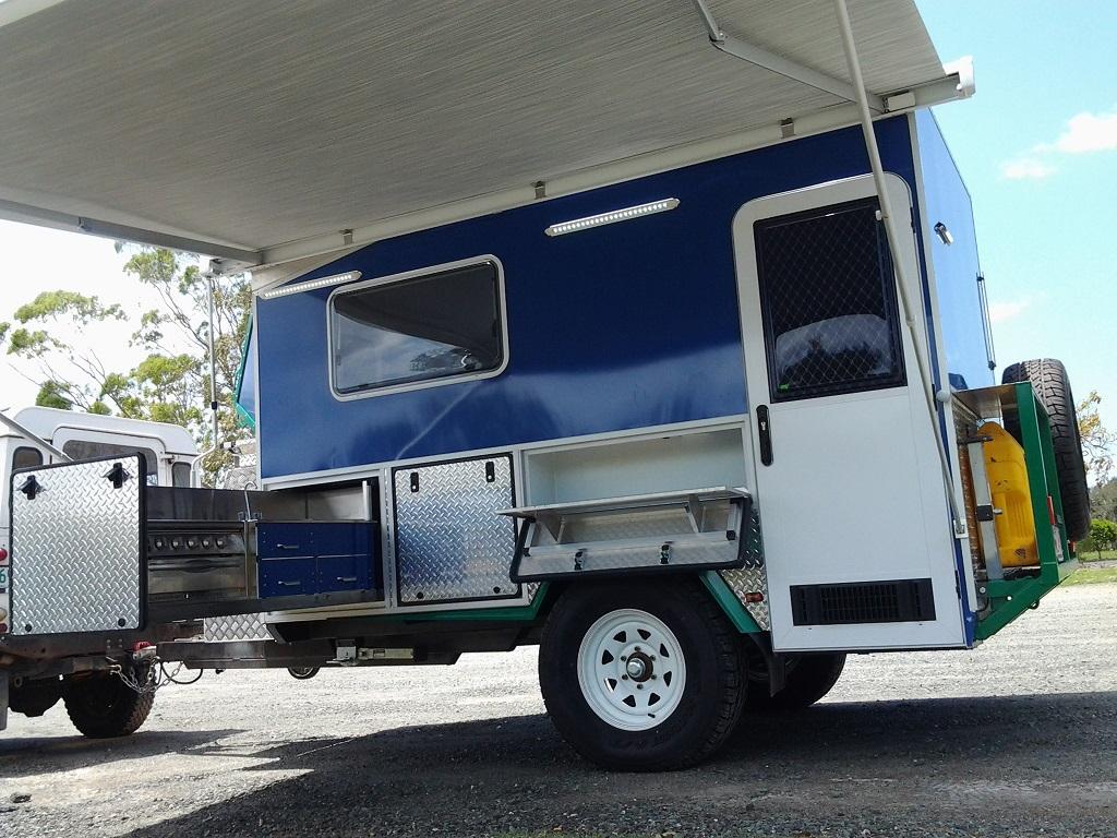 Hybrid Camper Trailer Custom Built In Brisbane