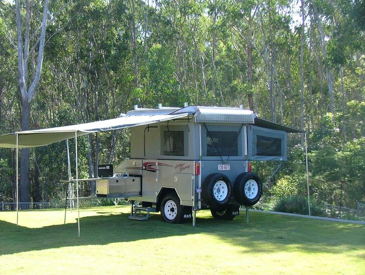 Custom made camper trailer from $45,000