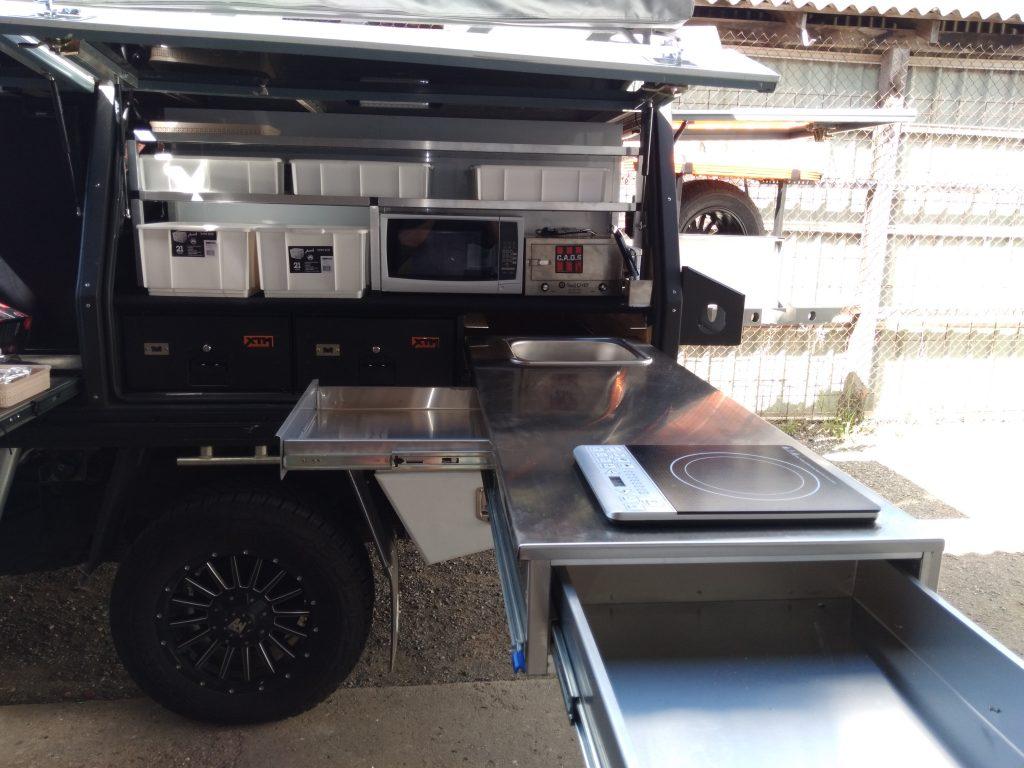 Holden Colorado hub style kitchen