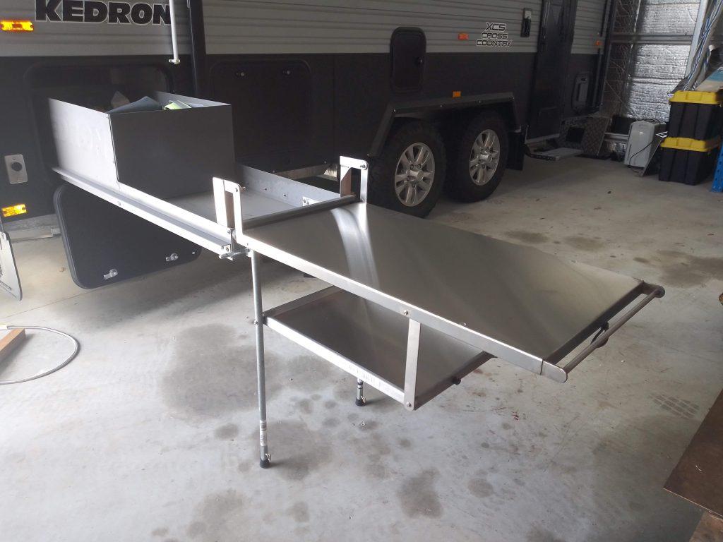 Kedron caravan extension bench