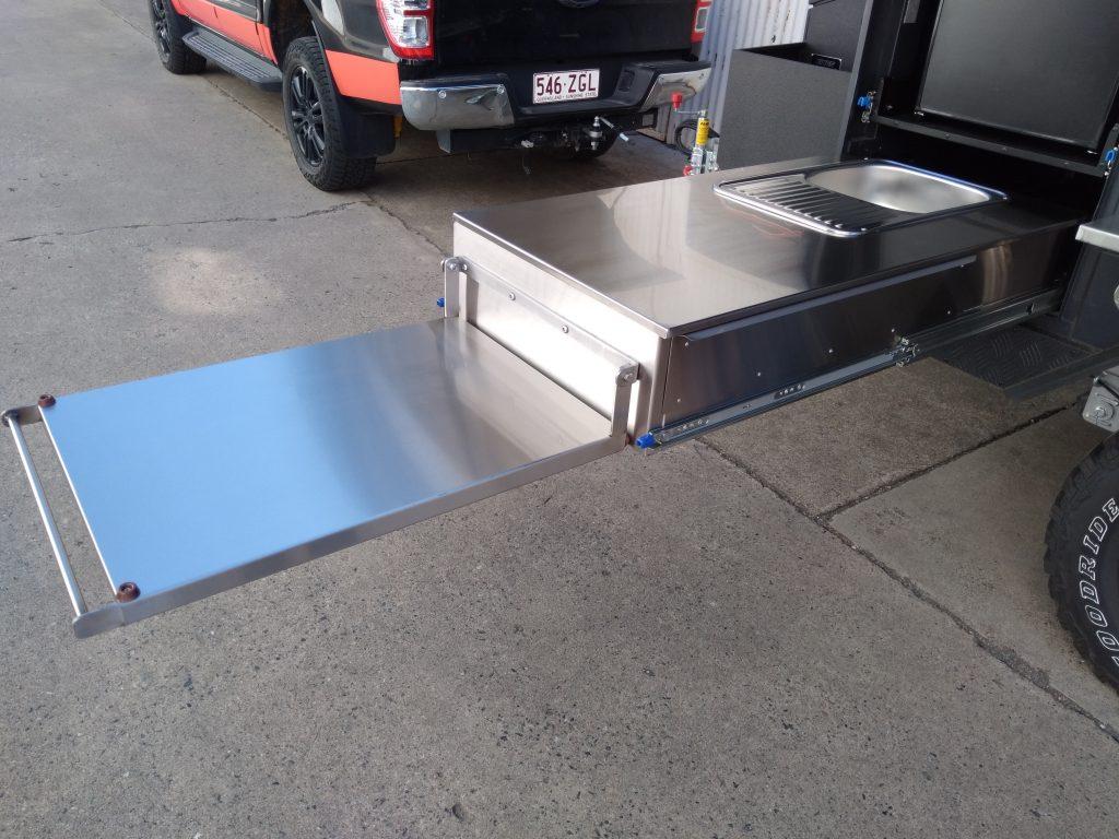 Kings camper custom slideout kitchen
